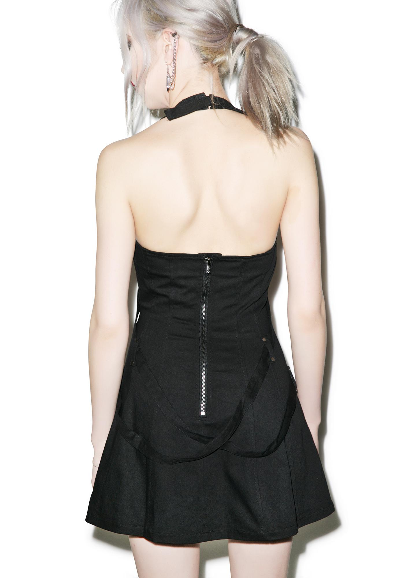 Tripp NYC Halter Strap Dress