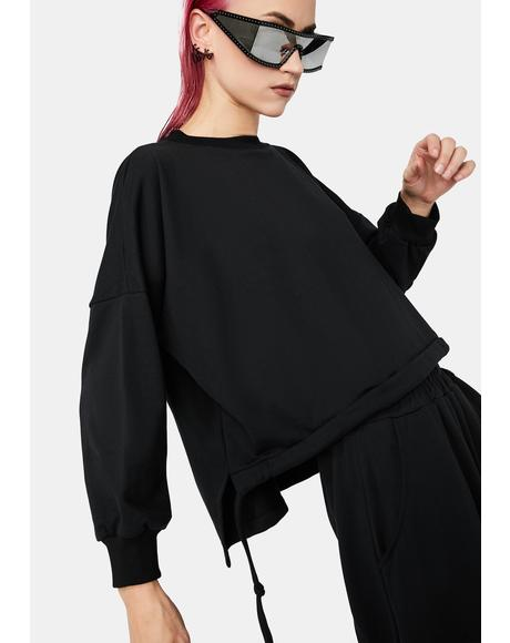 Far From Moonlight Oversized Tee