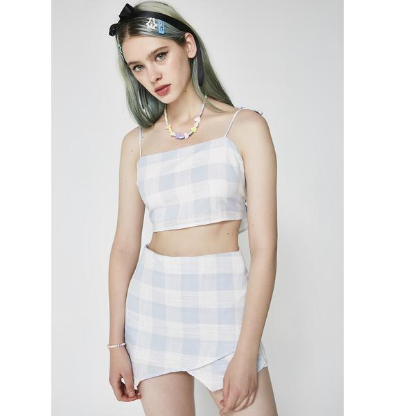 Act Right Gingham Set