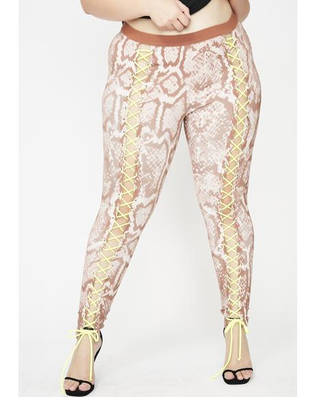 Mad Ish Talker Nancy Corset Leggings