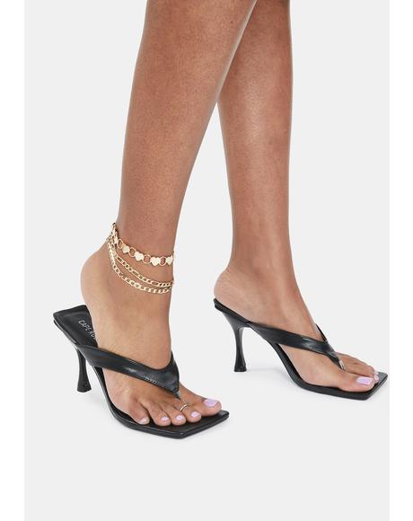 Luminous Love Chain Anklet