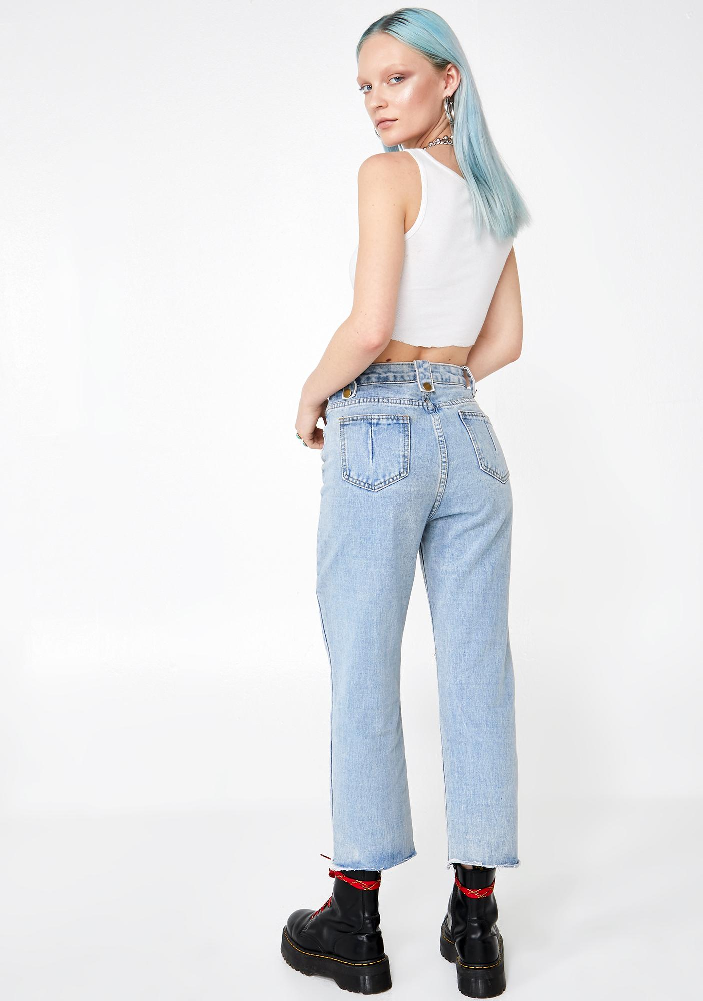 Not My BF Carpenter Jeans