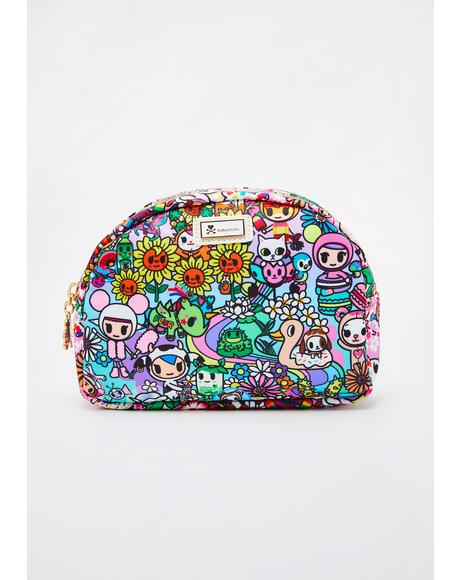 Flower Power Cosmetic Case