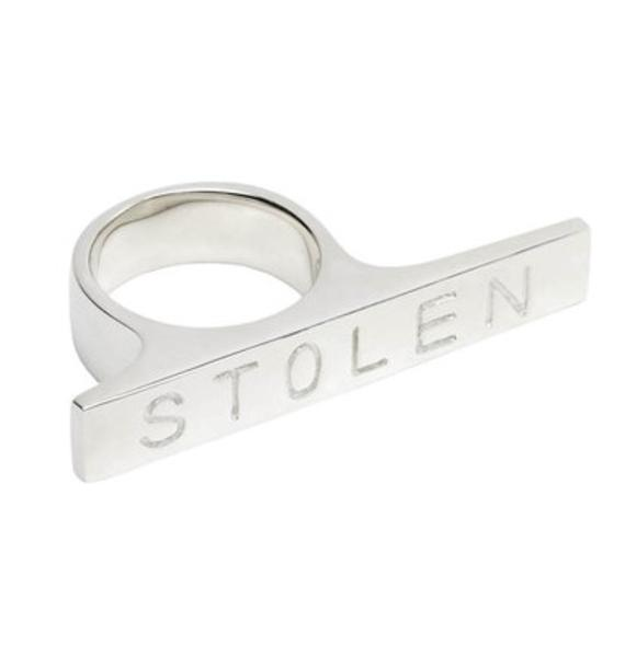 Stolen Girlfriends Club Plank Ring
