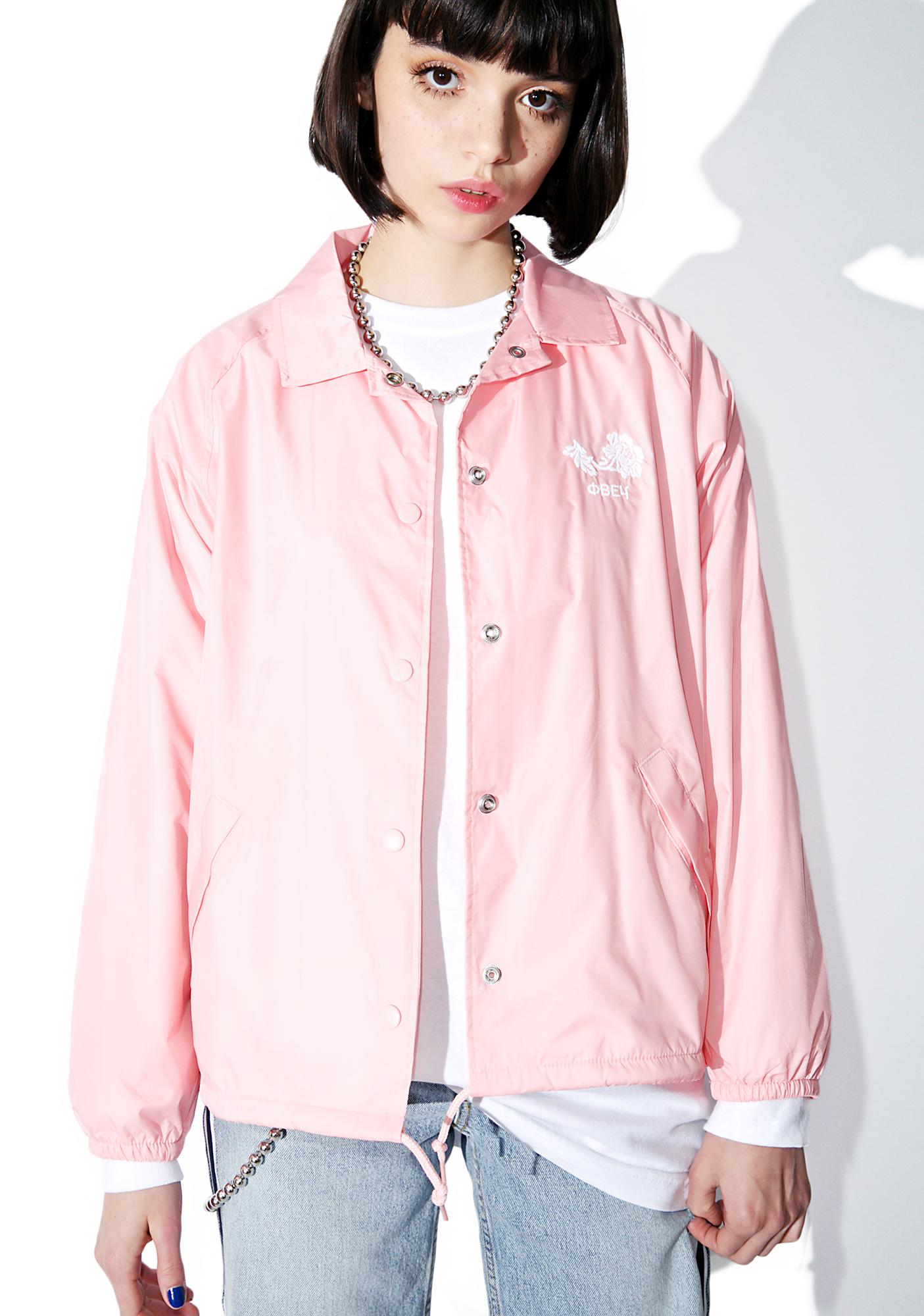 Obey Caviar Coaches Jacket