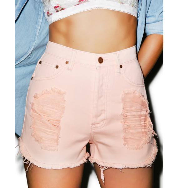 Mink Pink Almost Famous Slasher Shorts