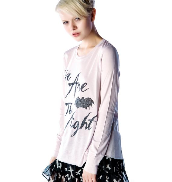 Zoe Karssen We are the Night Long Sleeve Tee