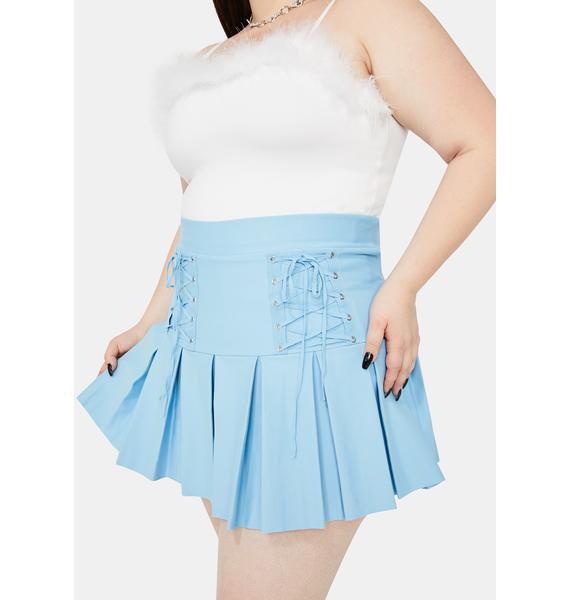 Miss Aqua Modern School Girl Pleated Skirt