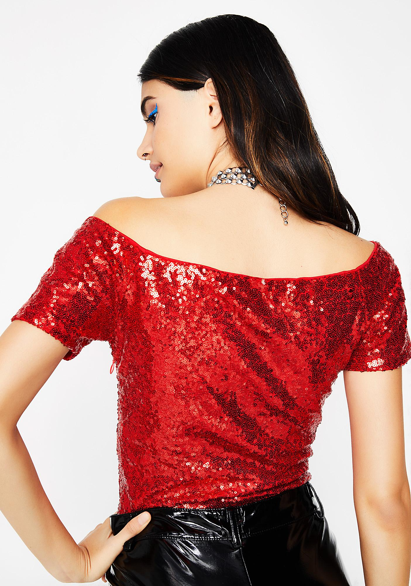 Love Fever Sequin Top