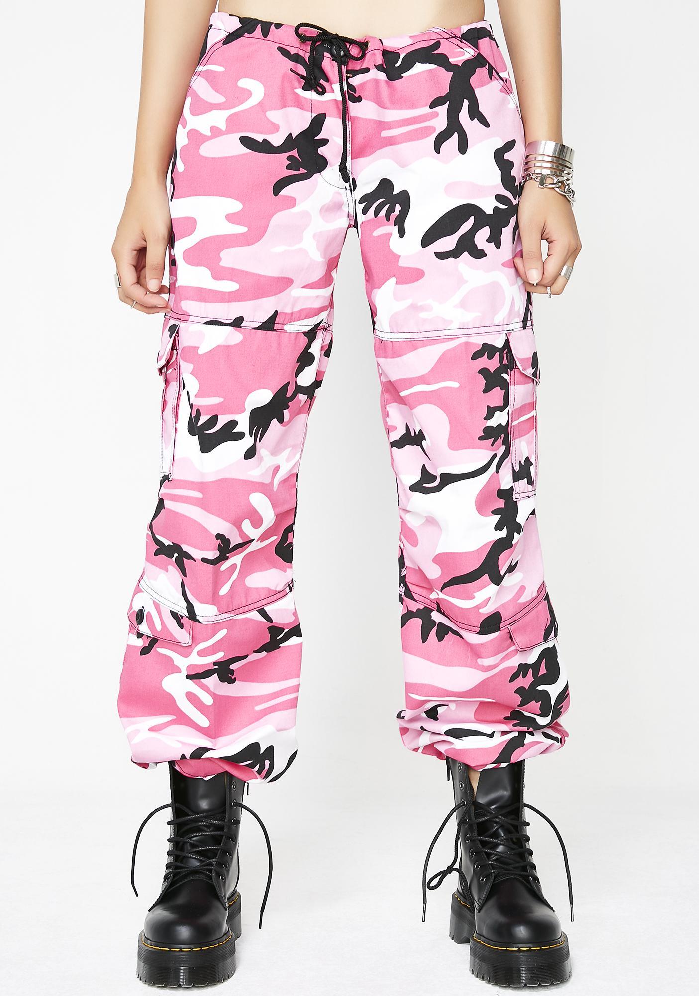 a5888e239eb Pink Camo Cargo Pants