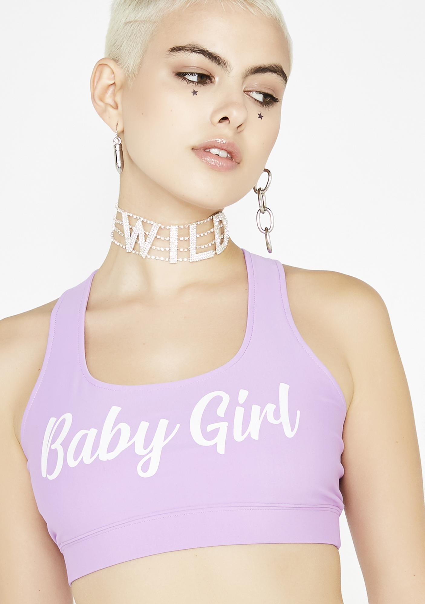 This Is A Love Song Baby Girl Sports Bra