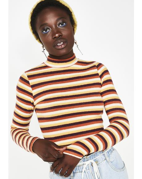 Too Dope For U Stripe Top