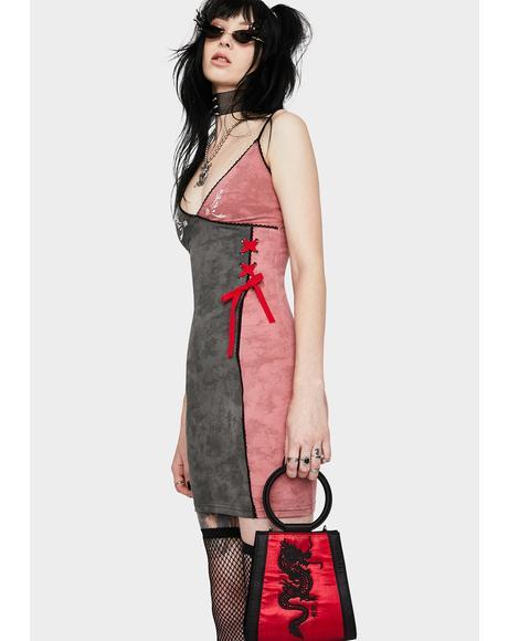 Red DD Mini Dress