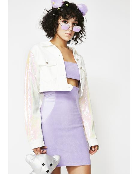 Wild In Wonderland Sequin Jacket