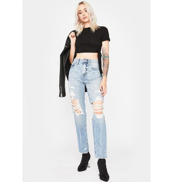 Give My All Cinched Crop Top