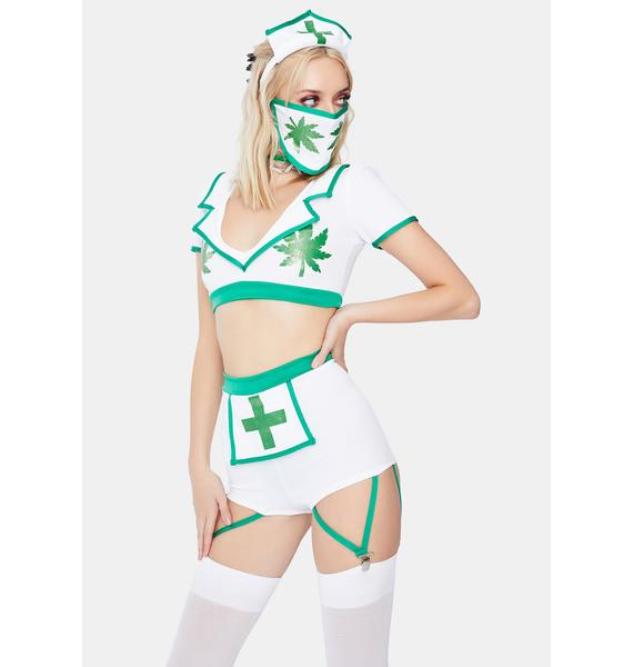 Nurse High Costume Set