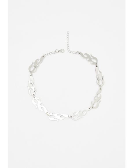 Feel The Heat Chain Necklace