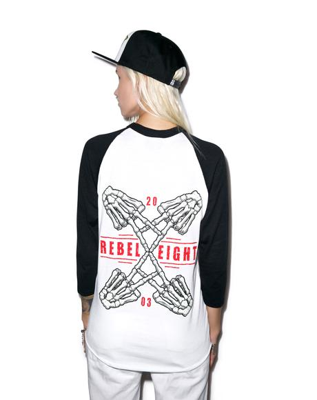 Crossed Fingers Raglan
