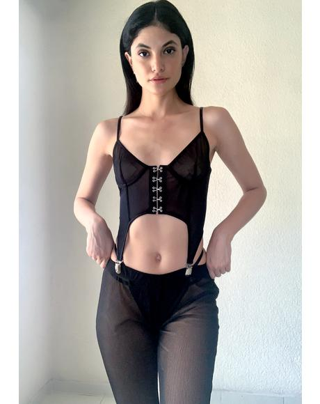Got U Hooked Corset Top