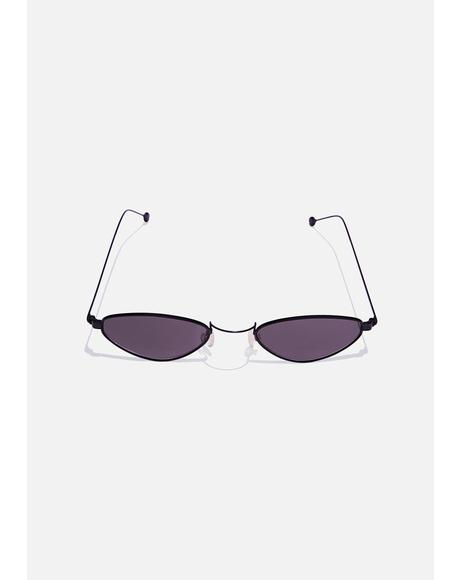 Hip Kitty Cat Eye Sunglasses