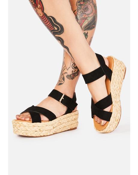 Picnic Date Platform Sandals