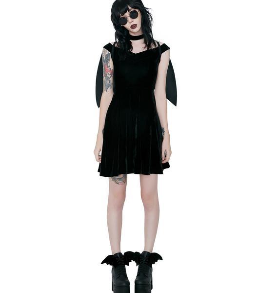 Killstar Tokyo Nights Hunter Dress