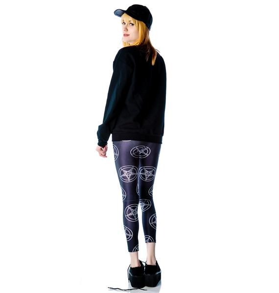 Killstar Baphomet Leggings