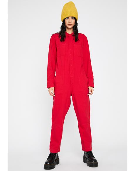 Ring The Alarm Carpenter Jumpsuit