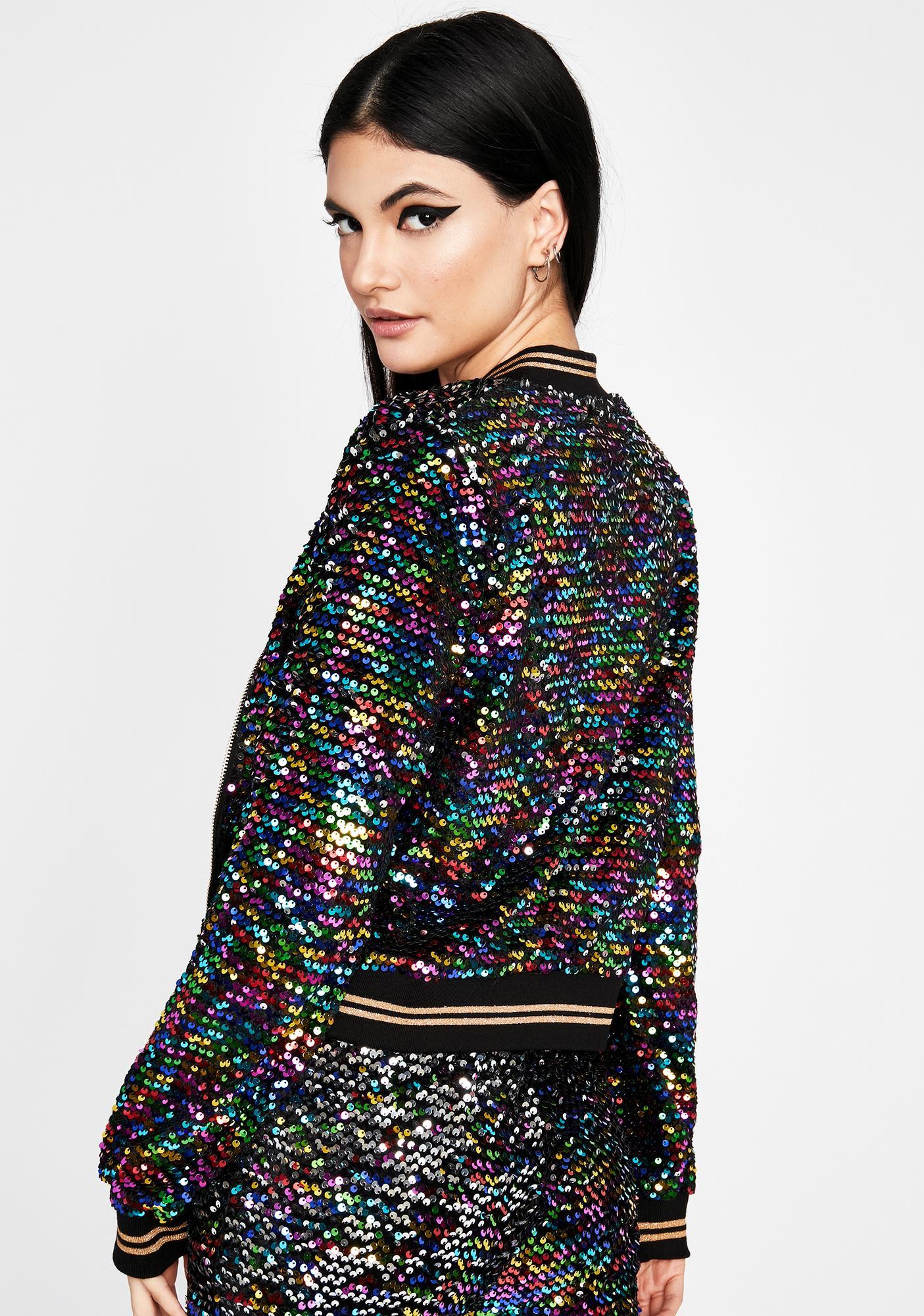 Glitter Gang Sequin Jacket