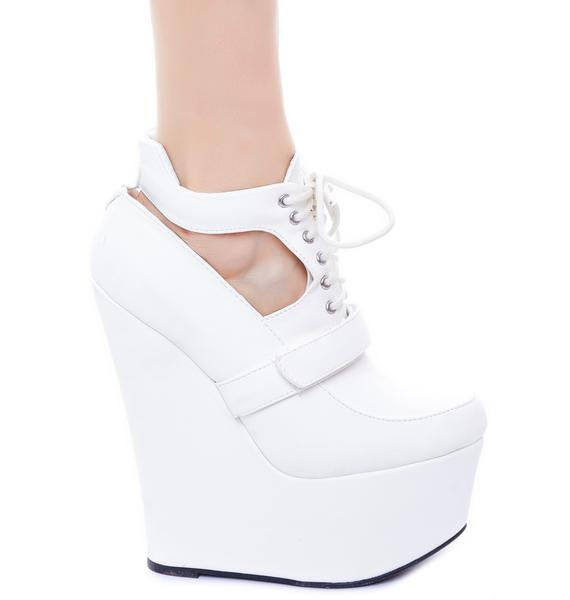Vanish Bootie Wedge