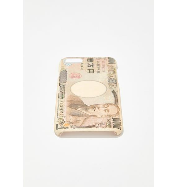 MaryJaneNite Japan Yen iPhone Case