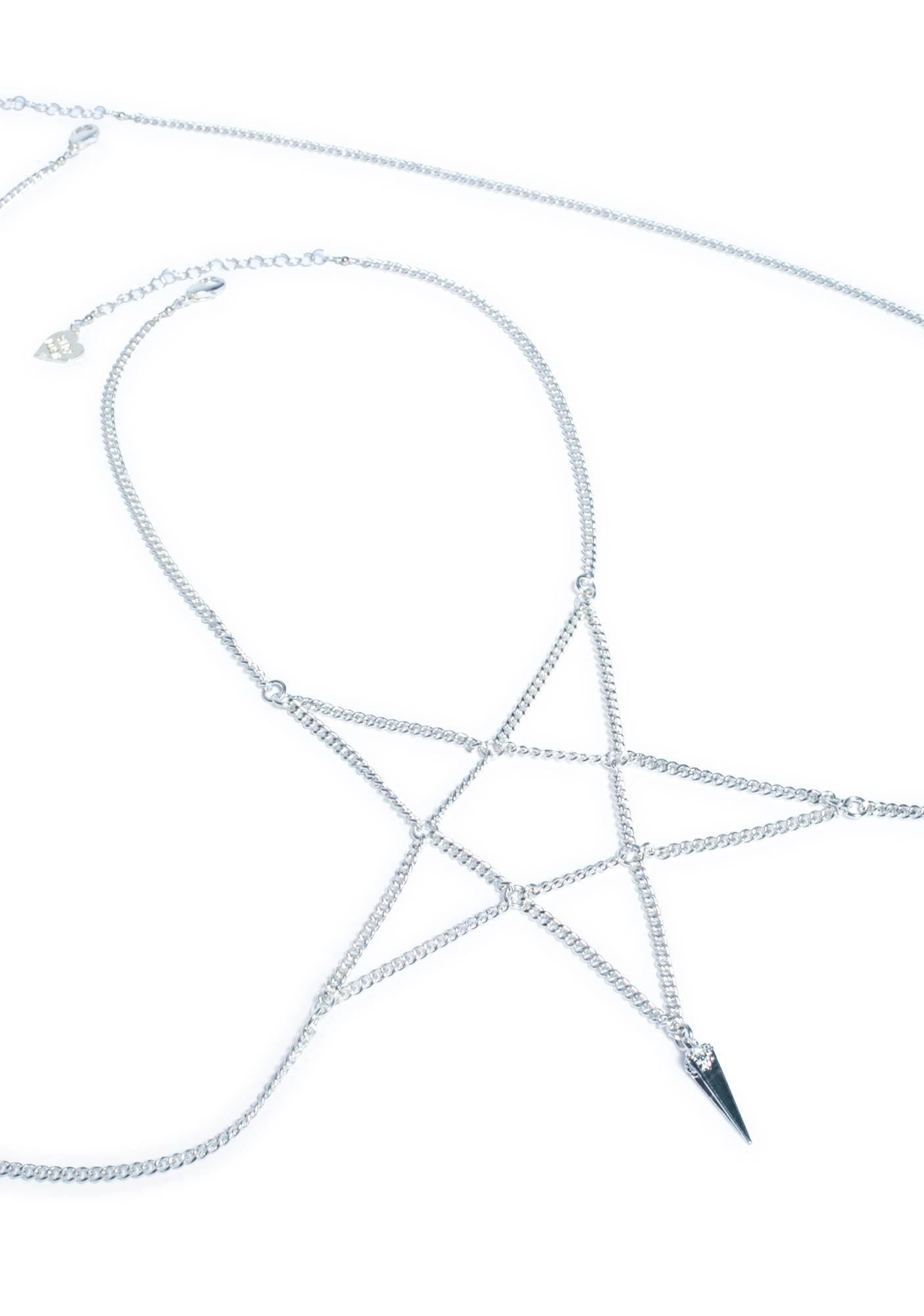 Vidakush Pentagram Body Chain