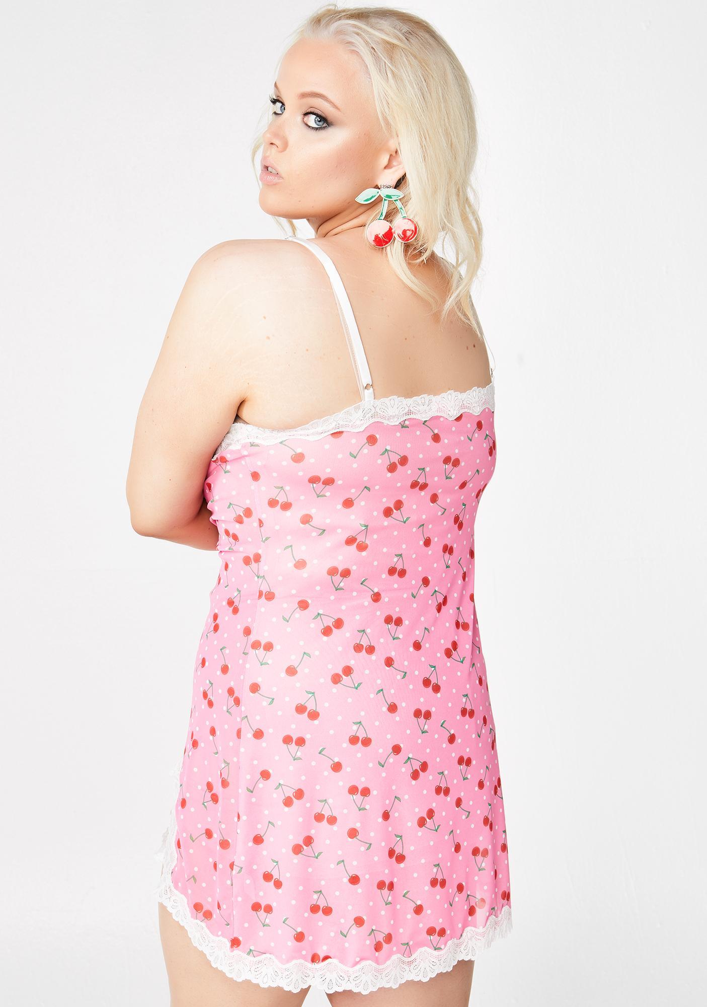 Sugar Thrillz Miss Cherry Munroe Slip Dress