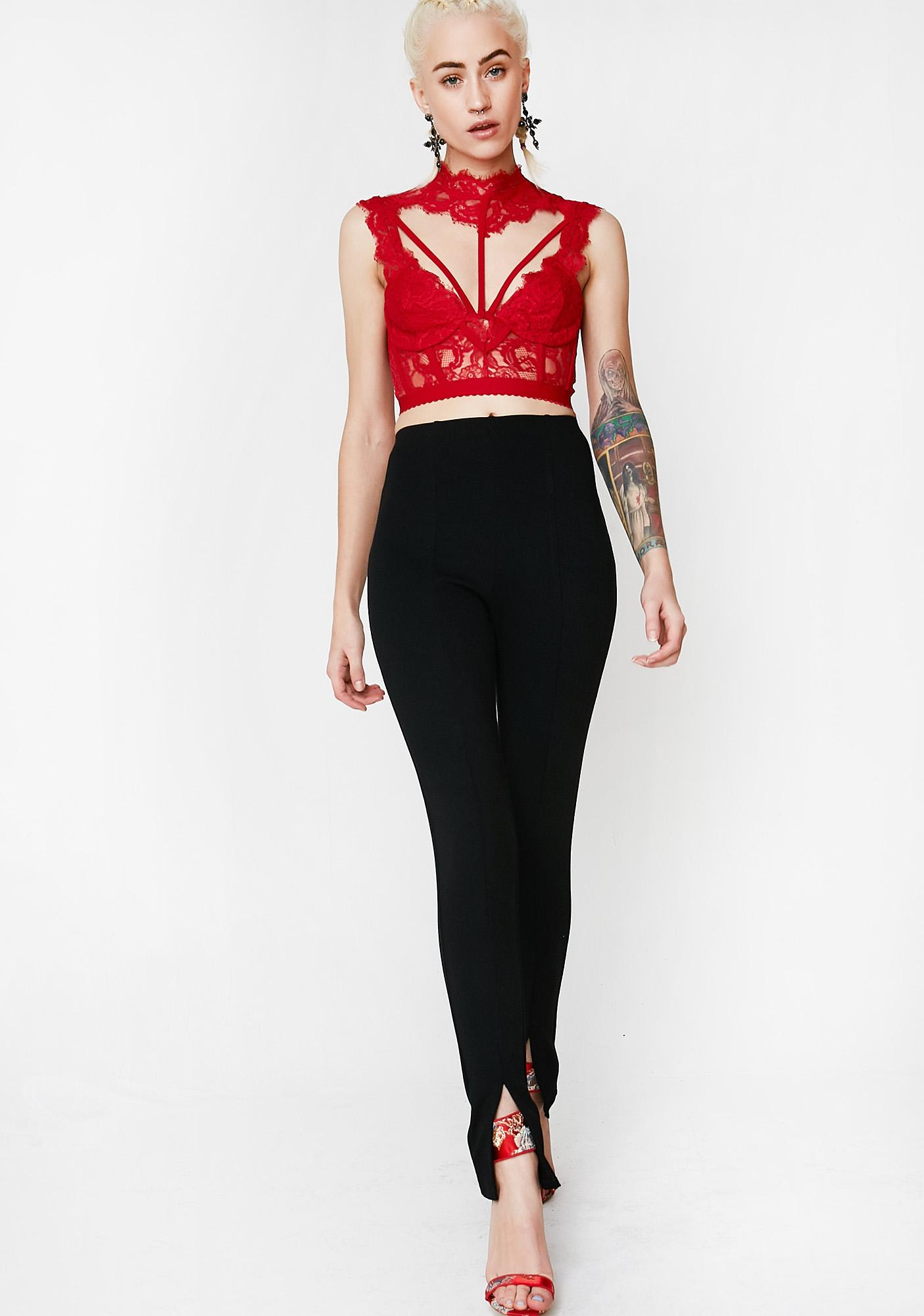 Flame Stolen Innocence Caged Top