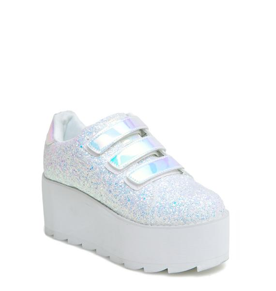 Y.R.U. Icy Lala Platform Sneakers