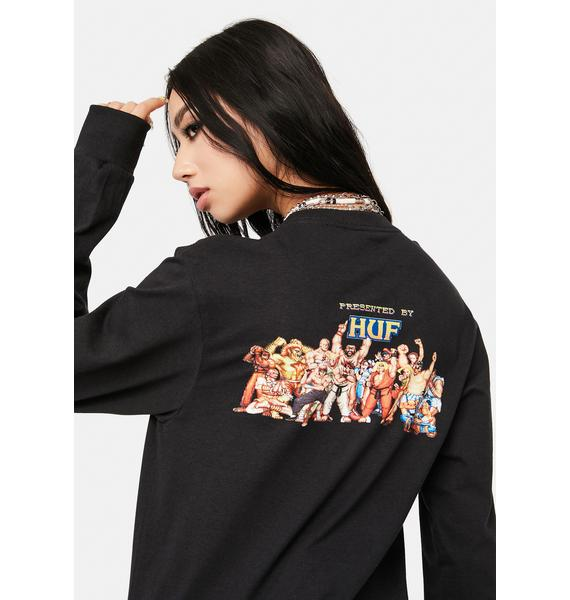 HUF Ending Long Sleeve Tee