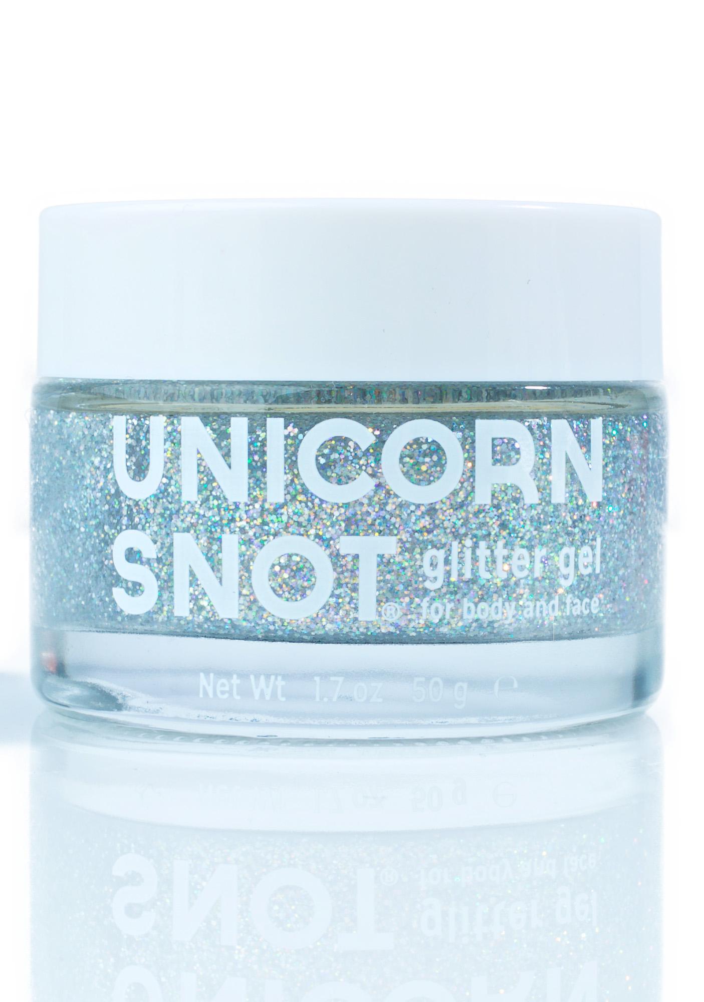 Unicorn Snot Silver Glitter Gel