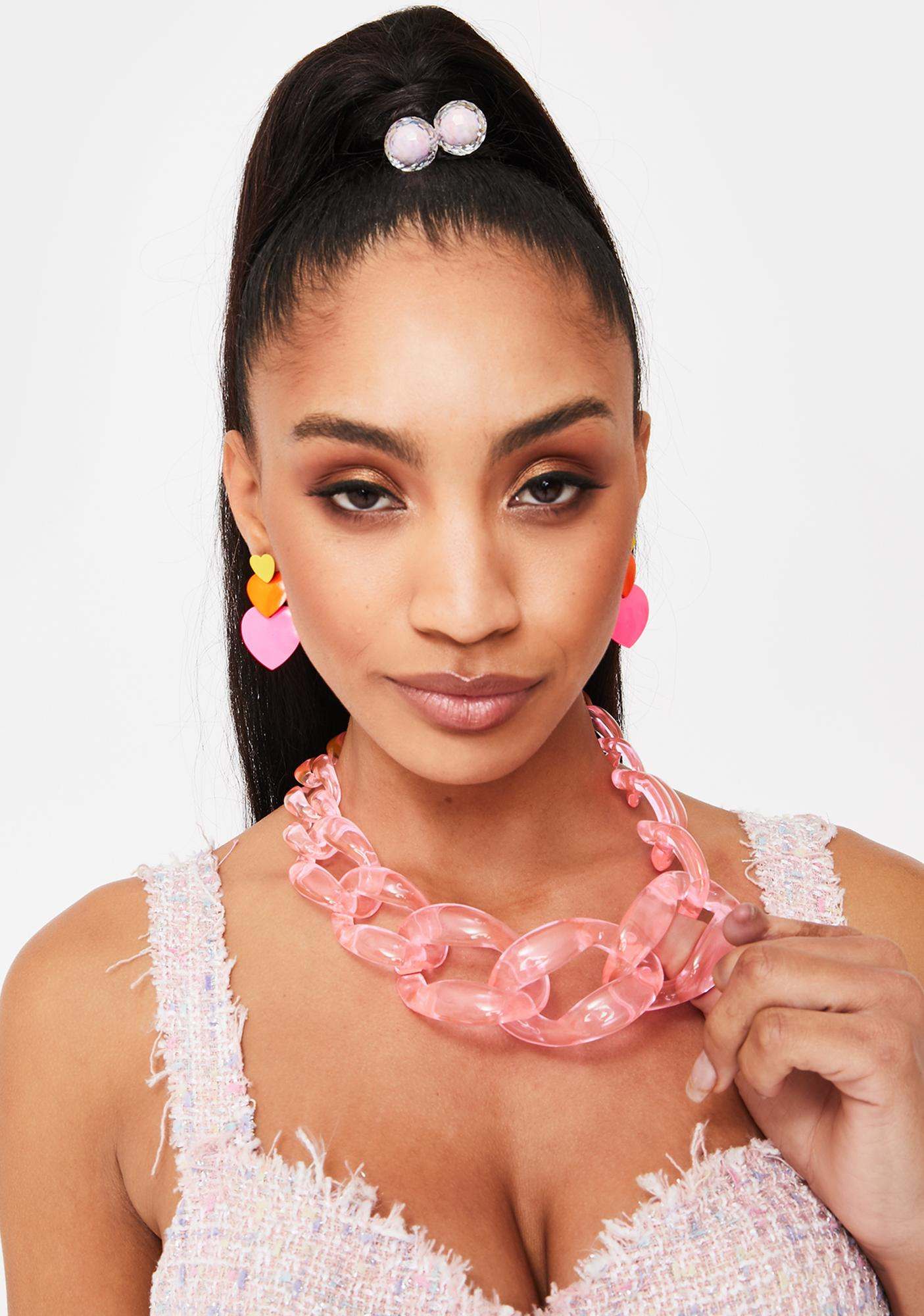 Baby Hustle N' Glow Chain Necklace