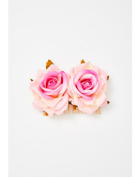 Bouquet Of Love Hair Comb
