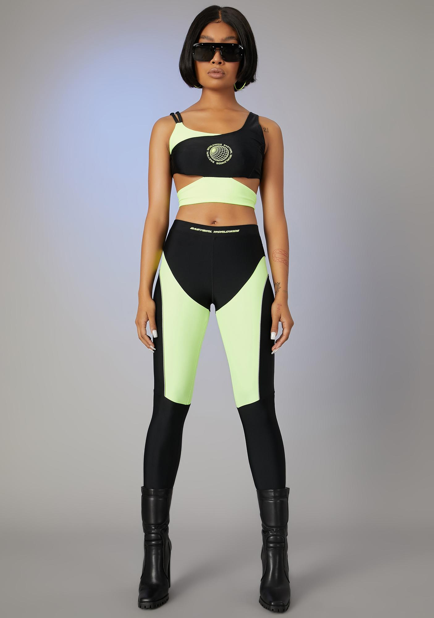 Poster Grl No Stylist Needed Leggings Set