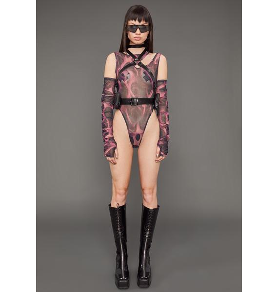 Poster Grl Paid To Slay Body Harness