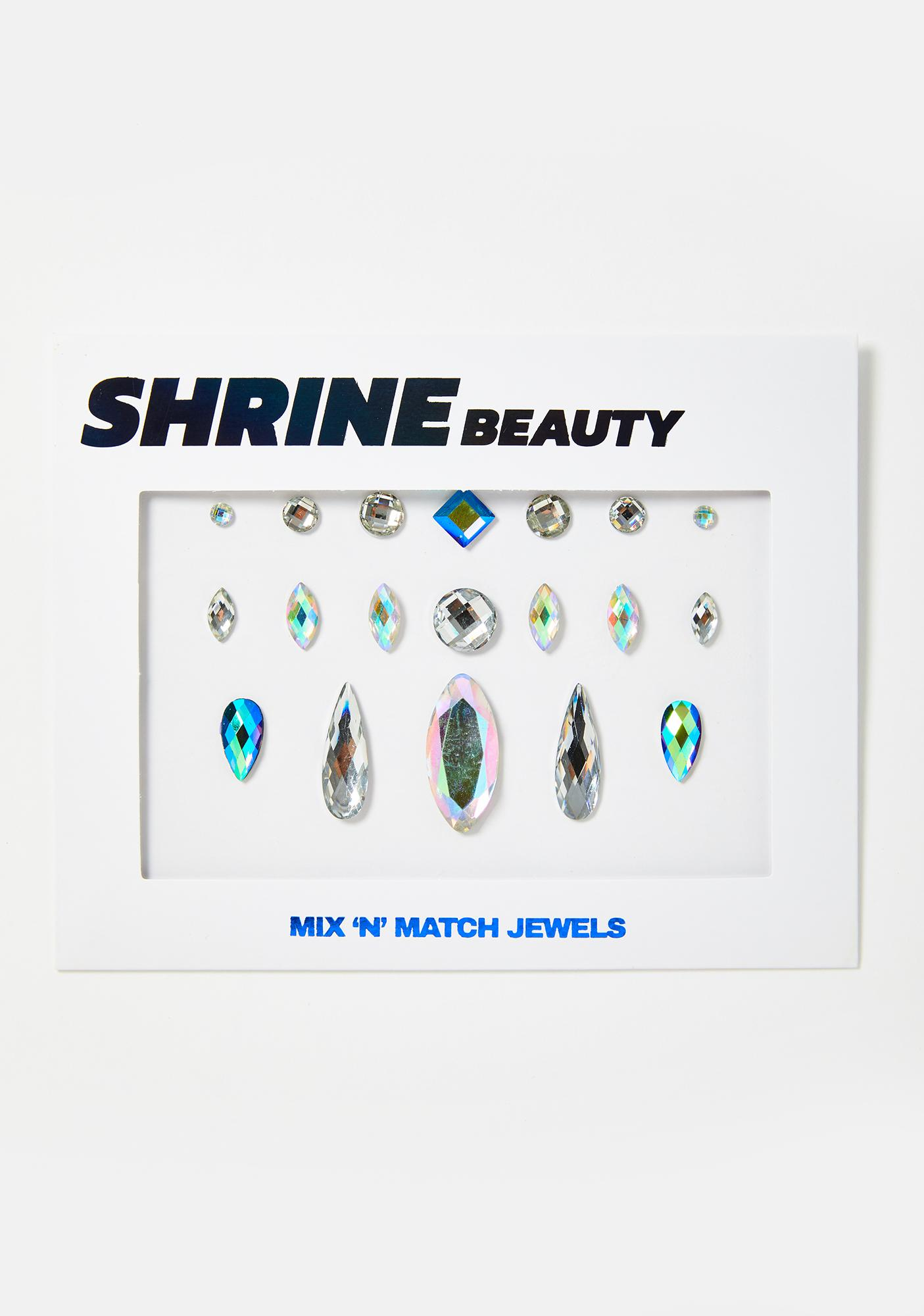 SHRINE Single Clear Face Gems