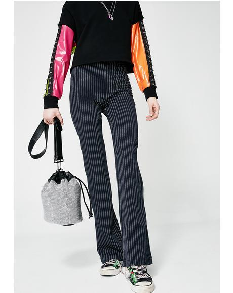 My Rules Striped Pants