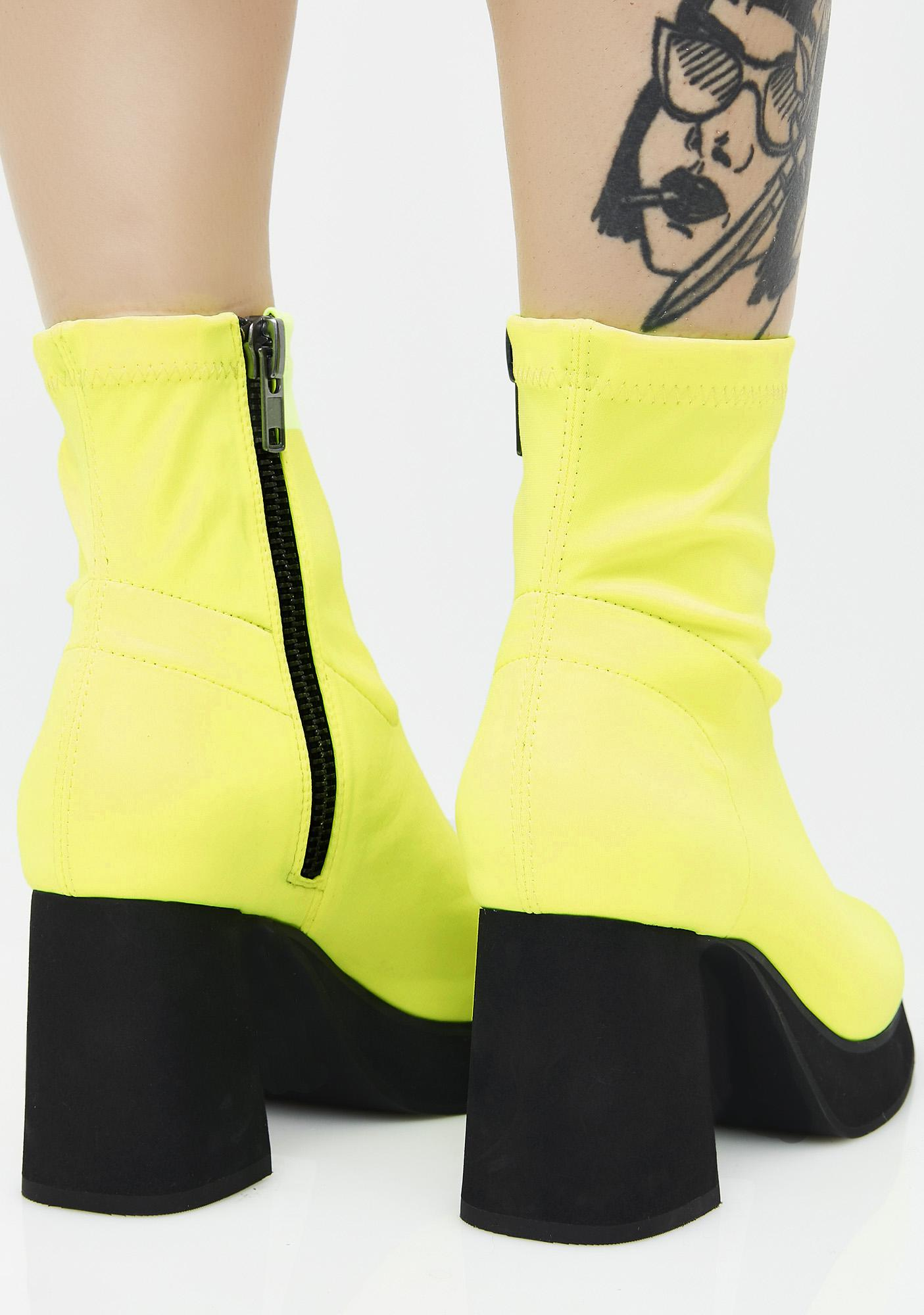 Current Mood Neon Tension Boots