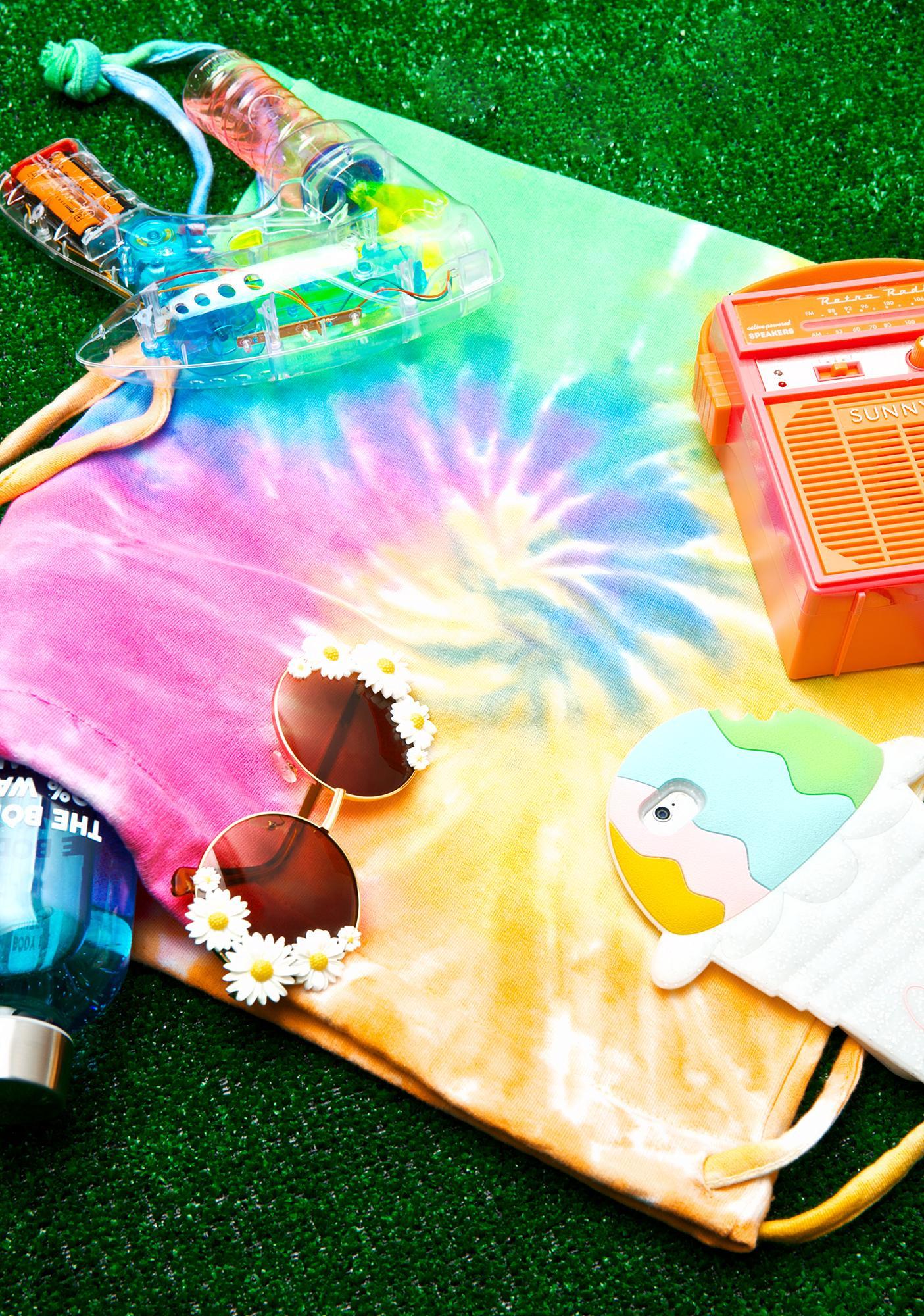 Radical Rainbow Tie Dye Backpack