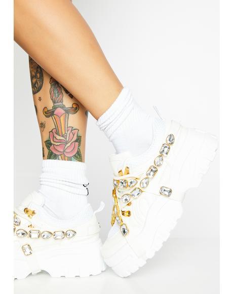 Stackin' Dough Platform Sneakers