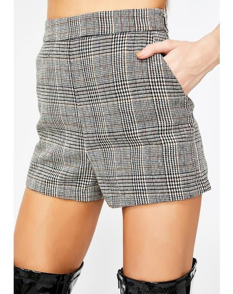 Plaid Princess Shorts
