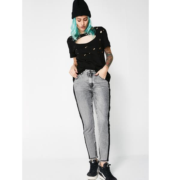 One Teaspoon Freebirds High Waist Skinny Jeans