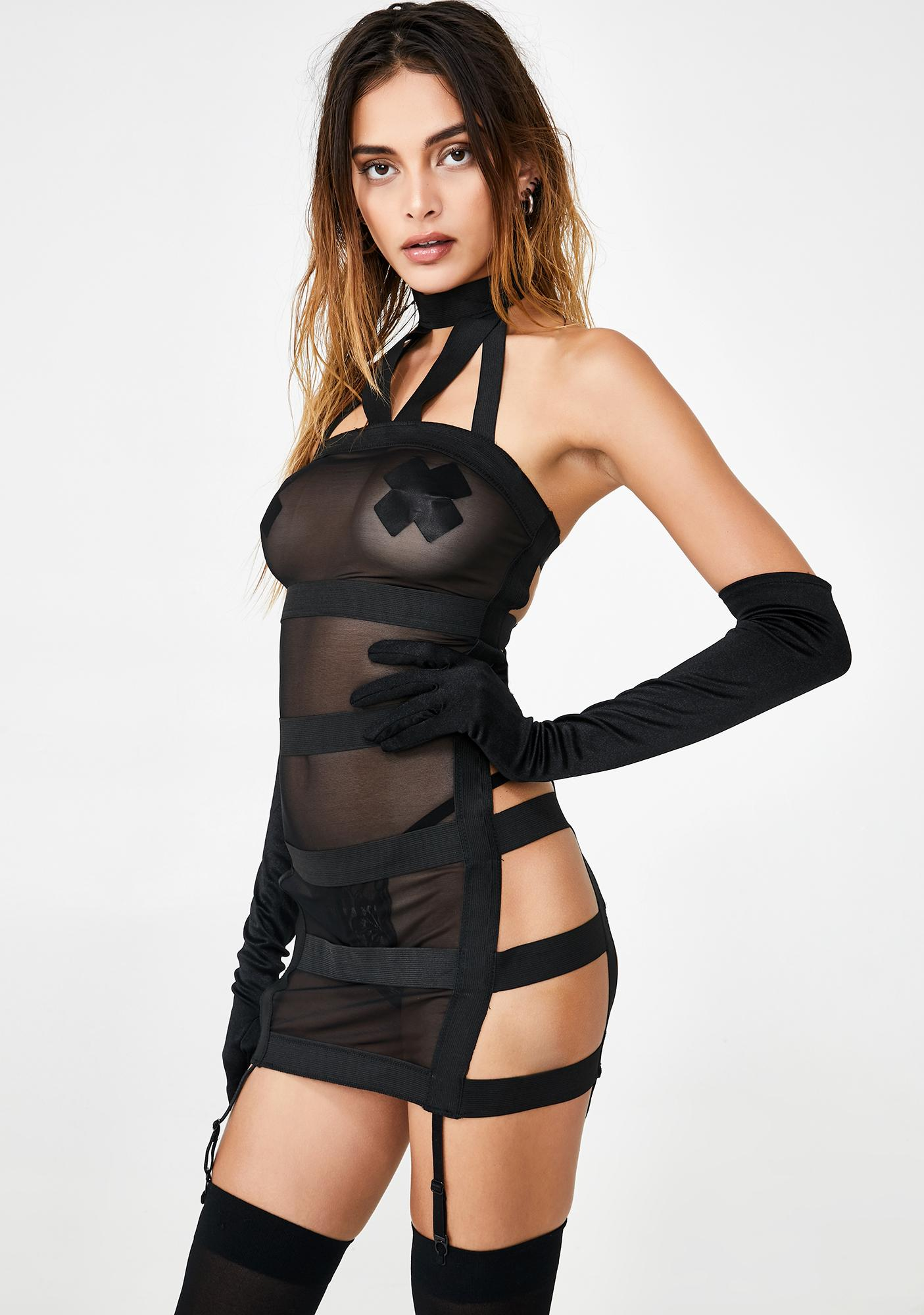 Punish Me Strappy Mini