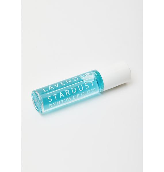 Lavender Stardust Vanilla Rainbow Roll On Lip Gloss